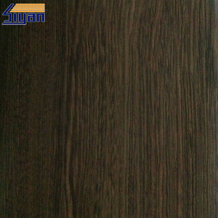 Wood Grain Texture PVC Foil For MDF , PVC Decorative Film For Home Furniture