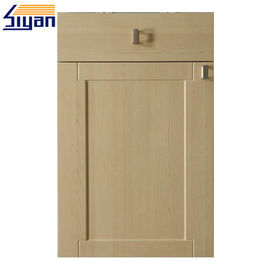 Waterproof Shaker Kitchen Cabinet Doors Replacement Dengan Permukaan Halus